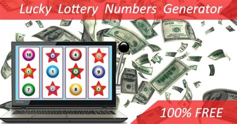 Lucky Numbers Generator - Lottery
