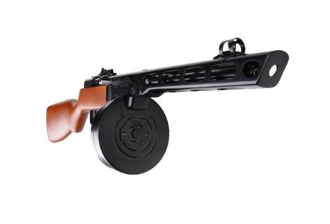 S&T PPSH-41 Electric Blowback Airsoft Rifle Wood