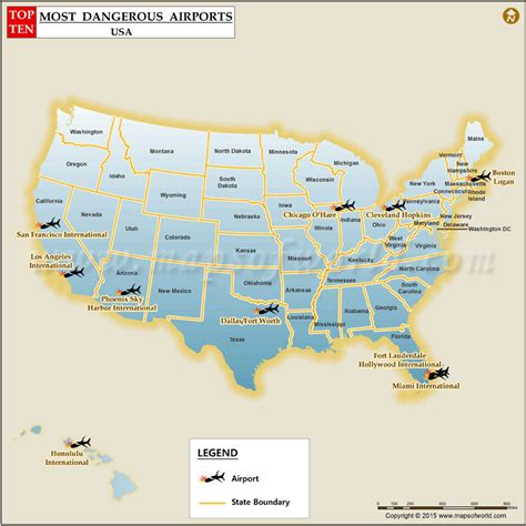 Most Dangerous Airports in the US - Top Ten