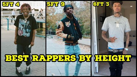 BEST RAPPERS BY HEIGHT 2019 (5FT - 6FT 6) 🔥 - YouTube