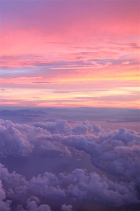 pink to purple | Sky aesthetic, Pretty sky, Sky and clouds