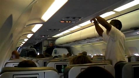 Inside JetBlue Airways A320 Airbus with American Airlines