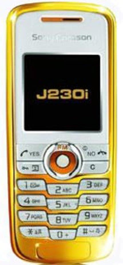 Teures Low-End Handy: Sony Ericsson J230i ganz in Gold