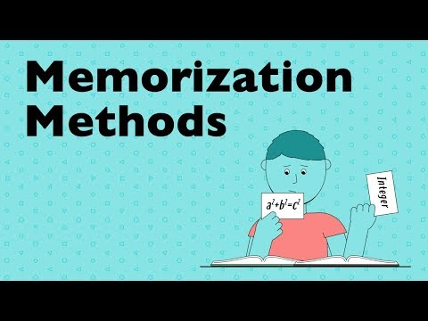 Memorization Technique: The Link System - YouTube