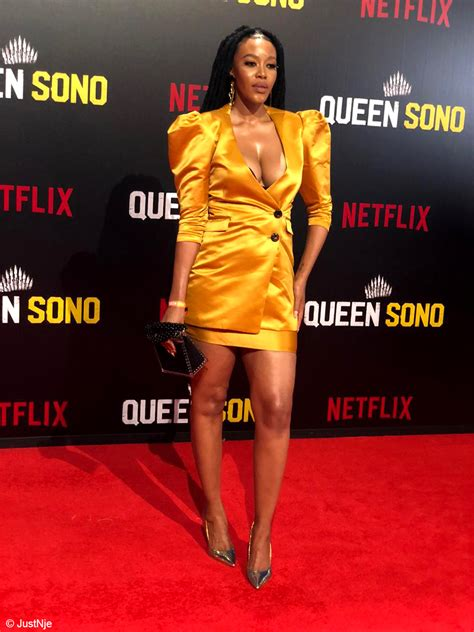 Queen Sono premiere hosts some of South Africa's A-list