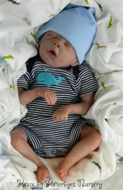This reborn doll looks a lot like my baby boy who went to