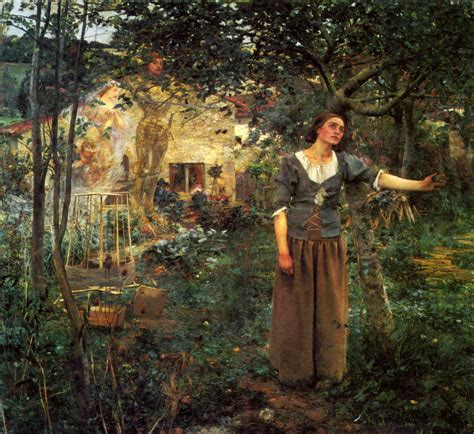Joan of Arc - Visions of Saints in the Garden