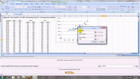 How to Make an Excel 2007 Scatterplot with Groups - YouTube
