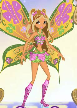Flora Believix Winx Dress-Up Game by SweetieShelly on