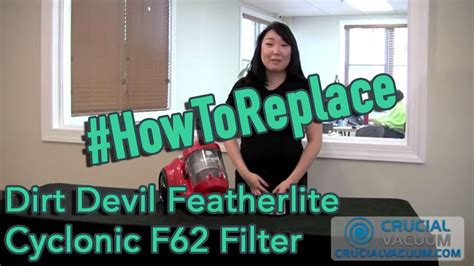 Dirt Devil Featherlite Cyclonic F62 Filter Replacement