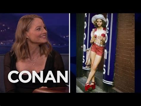 """Jodie Foster's Fond Memories Of """"Taxi Driver"""" - CONAN on"""