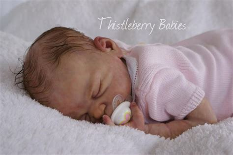 Thistleberry Babies Full Body Solid Silicone Baby Girl