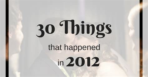 Musings of a Museum Fanatic: 30 Things That Happened in 2012