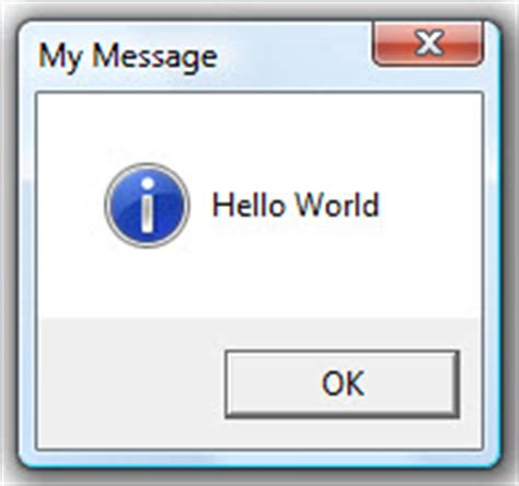 PowerPoint vba Message Boxes