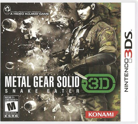 Metal Gear Solid 3D: Snake Eater - Nintendo 3DS ROM & CIA